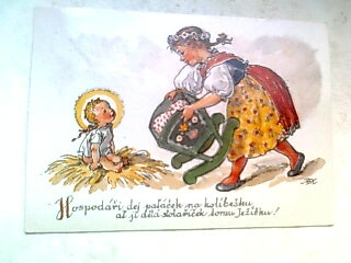 Pohled Fischerová- Kvěchová, Vánoce, nově vydaný, č.67763