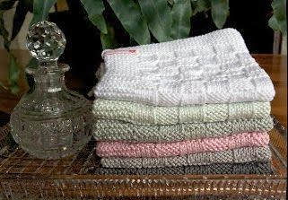 Knit some beautiful guest towels