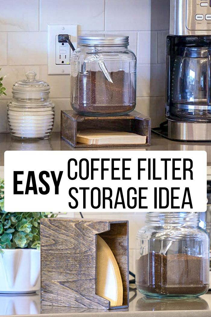 Tired Of Coffee Filters Falling From Their Flimsy Box Coffee Filters Coffee Filter Holder Coffee Filters Storage