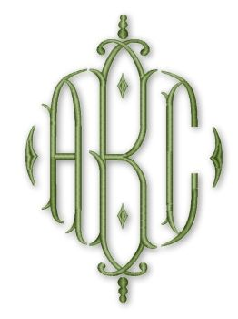 Cheap Embroidery :: Monograms