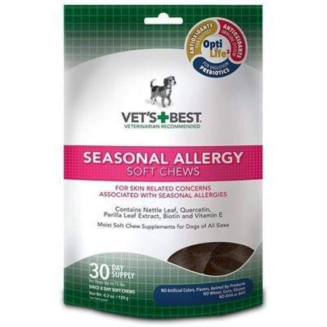 Klearwater Vet S Best Seasonal Allergy Soft Chews Seasonal