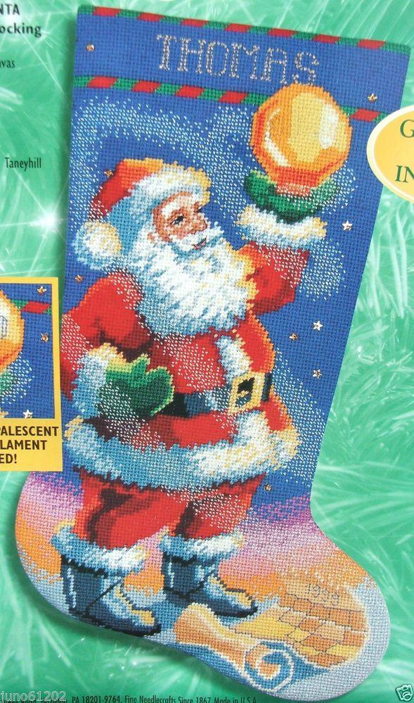 Needlepoint Christmas Pillow Kits