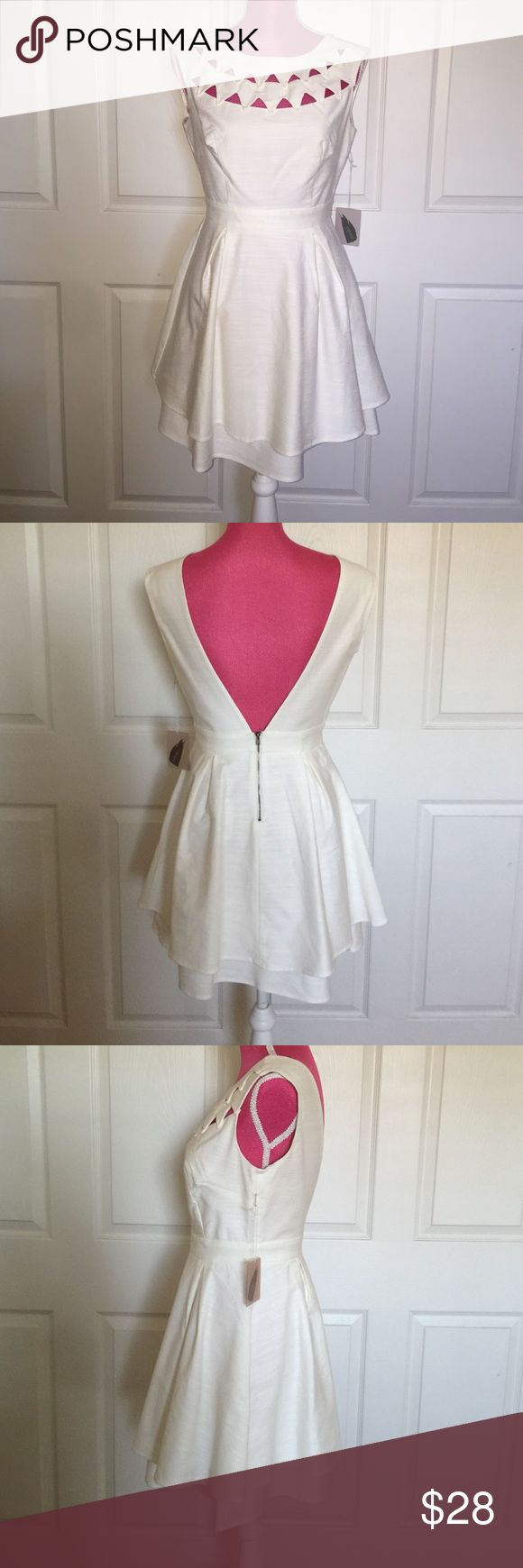 Forever 21 Ivory dress NWT Perfect summer dress. True to size Forever 21 Dresses Wedding