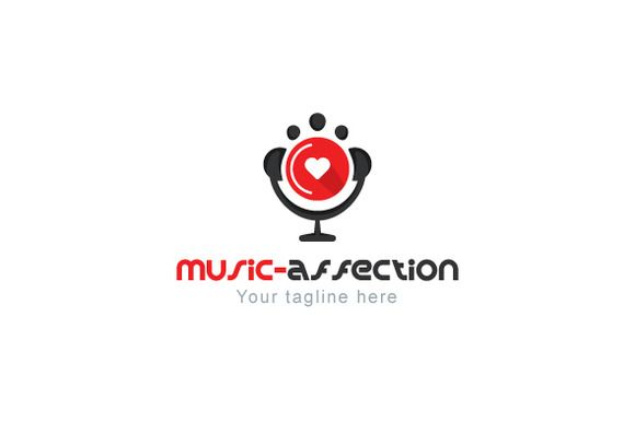 Music Affection Logo by VecRas Creations on Creative Market