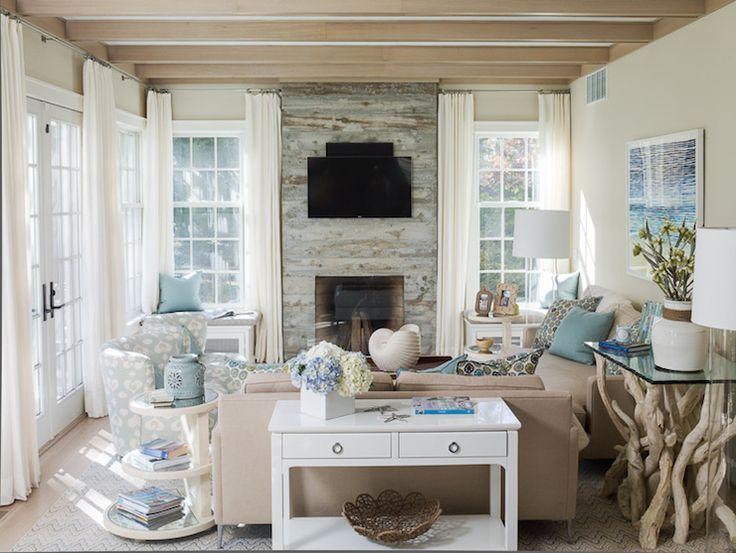 Window Seats Flanking Fireplace Tall Windows Or Mirrors