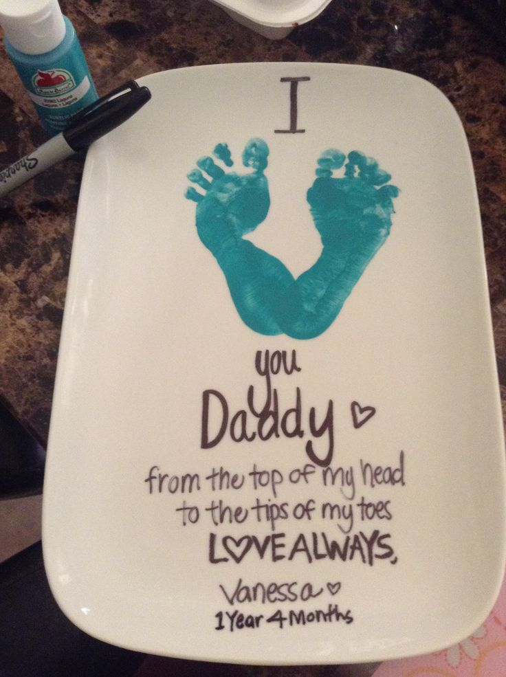 Gift Ideas For First Fathers Day Part - 41: Love This Idea. I Am Sure You Can Do This With An Older Kid Too. It Would  Be Just A Bigger Love | Crafty Idea | Pinterest | Craft, Babies And Baby  Crafts