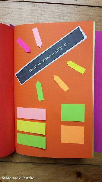 Wenn dir etwas wichtig ist ... Wenn Buch | Bastelanleitung | Wenn Buch Ideen | Wenn Buch basteln | Geschenksidee | selbstgemachte Geschenke