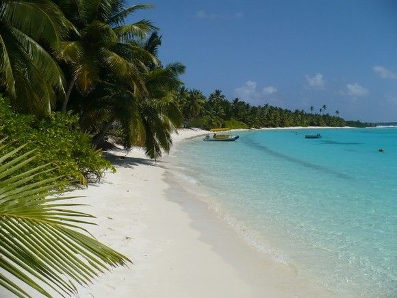 the Cocos Islands, an Australian external territory, are exquisite. The beaches are damn near close to perfect and the lagoon is full of exotic marine life. For anyone who has gone out of his or her way to visit deserted beaches, the Cocos Islands are the Holy Grail.