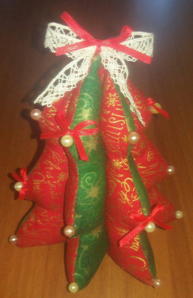 Albero di Natale imbottito , by francycreations non solo idee regalo, 8,00 € su misshobby.com