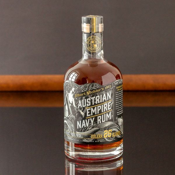 Albert Michler Austrian Empire Navy Rum Solera 25