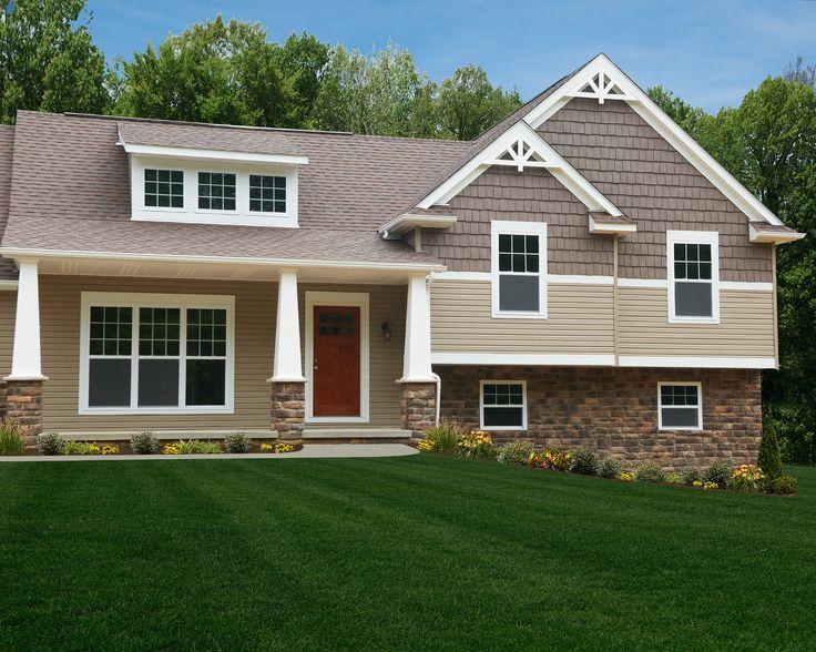 Lexington Craftsman Exterior remodel, Home exterior