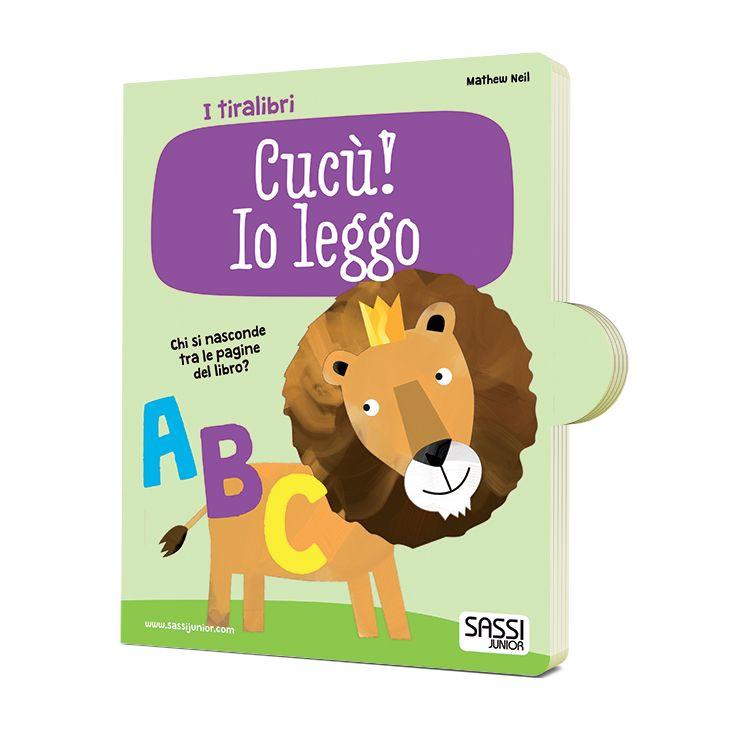 #Sassi Junior: Tiralibro Cucù! Io Leggo - Tiralibro sull'alfabeto di 10 pagine. In arrivo. #ecologia #libro #gioco