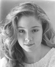 Megan Fallows who played Anne of Green Gables.