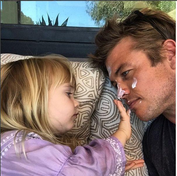 Luke Hemsworth. Wow, those Hemsworths have GREAT genes!!!