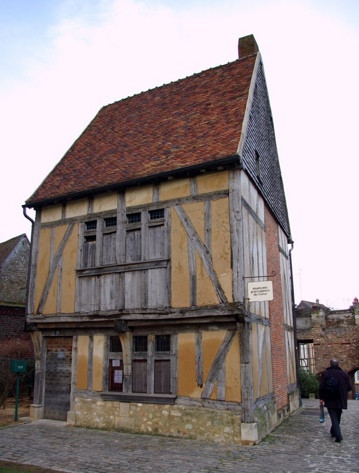 Oldest (early 15thC.) house in Beauvais, France
