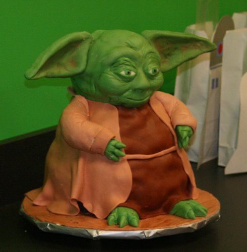 58 Best Images About Yoda Cakes On Pinterest