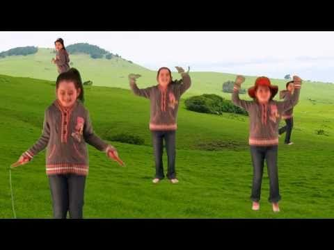 Engels liedje over snel en langzaam voor kleuters / The Fast and Slow Song