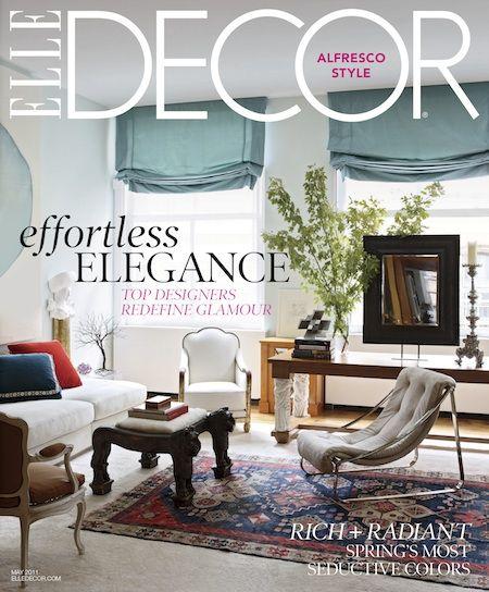Sneak Peek: A Couple's Elegant Compromise in Elle Decor's New Issue