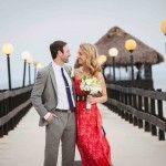 Boda, playa, sunset, beach wedding, Costa Rica, destination wedding, elopements, couple, retrato de pareja, portrait, bride and groom
