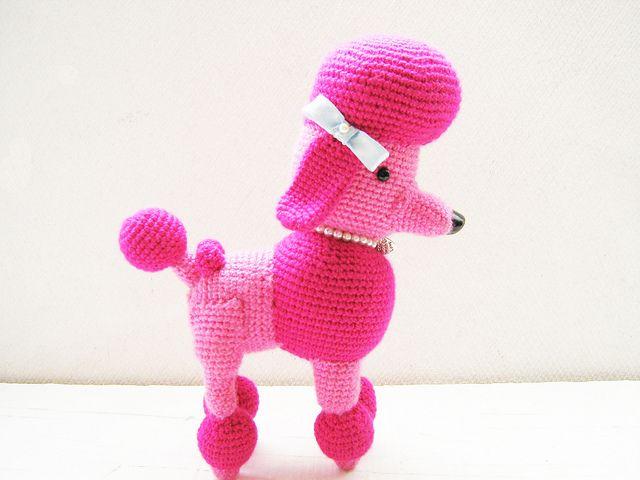 Free Amigurumi Poodle Pattern : Images about pudels gehaekelt on pinterest toy
