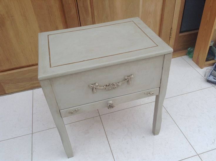 Craft Storage box by Peppershells Vintage on Etsy