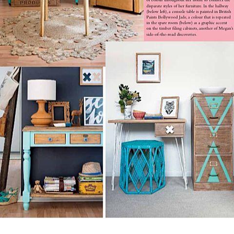 Insideout magazine  Rustic  DIY  Megan Boseley  Home styling