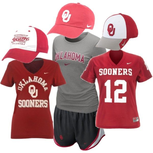 """Oklahoma Sooners Fan Gear"" on Polyvore"