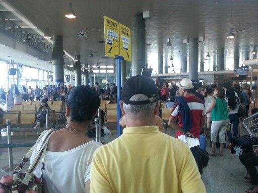 Departure gate 15 @ Porto International