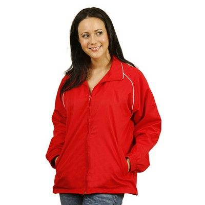 Customised Adult's Track Top (Unisex) Min 25 - Nylon ripstop shell with polyester mesh lining. http://www.promosxchange.com.au/customised-adult%C3%82%E2%80%99s-track-unisex/p-8269.html