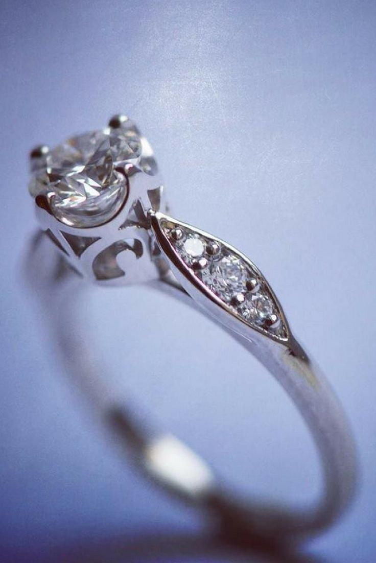 1000 ideas about Intricate Engagement Ring on Pinterest
