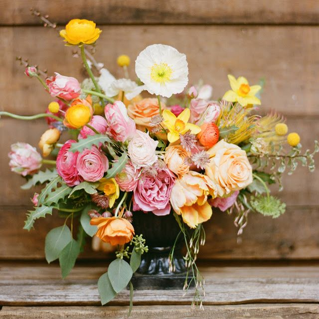 inspiration | wild summer colored blooms | via: bows and arrows