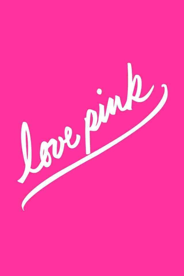 Love Wallpaper On Tumblr : VS Love PINK iPhone wallpaper iPhone Wallpapers ...