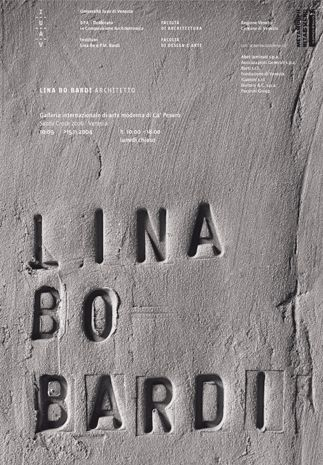 Debossed concrete typography - The little imperfections make for an interesting visual.