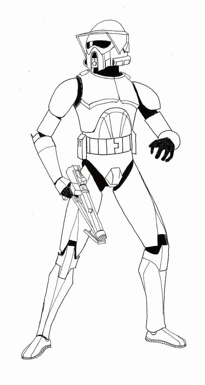 Clone Trooper Coloring Page Awesome Clone Troopers Free Coloring Pages Clone Trooper Armor Star Wars Clone Wars Star Wars Drawings