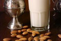 Moroccan Almond Milkshake - Recipe for Almond Smoothie with Orange Flower Water