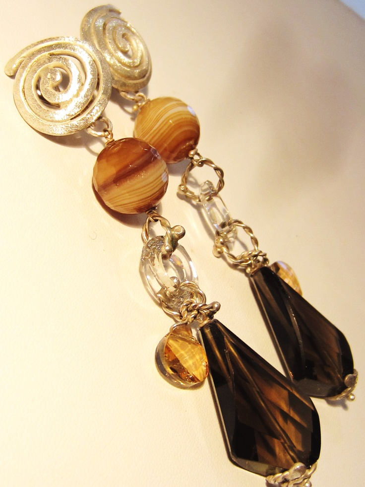 Browns..  Paola C. Jewelry  Fine Jewelry and Art  www.paolacdesign.com