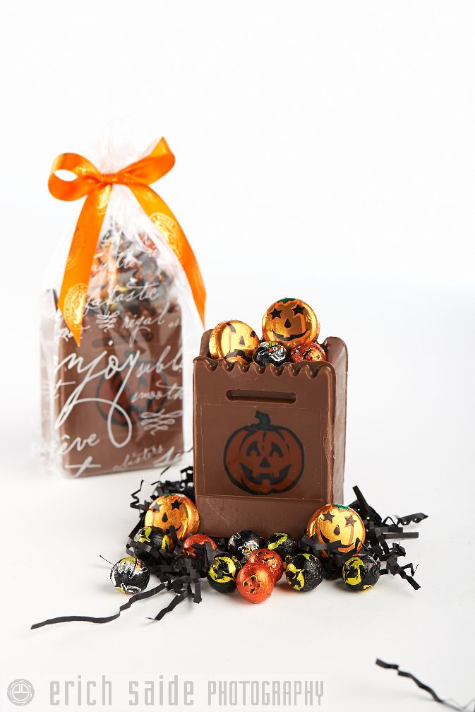 Treat Bags! Not a trick, win a treat....see in store for details. www.rockychoc.com