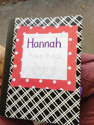 From The Hive: preschool journals
