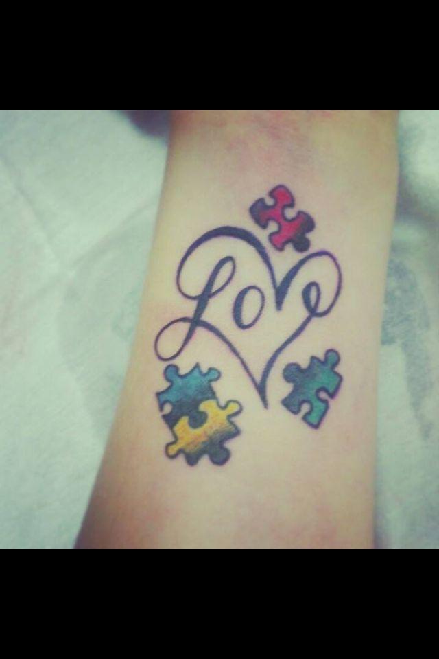 Love love love this tattoo!  Autism love!