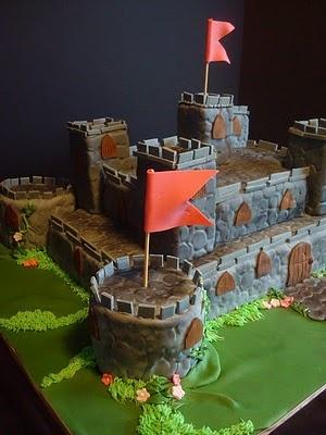 professional castle cake