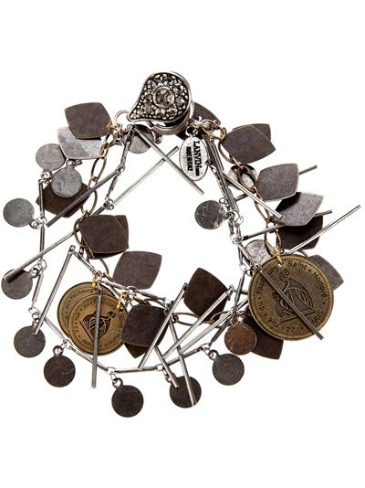 Lanvin Coin Bracelet Available from Changing Room on Far Fetch.