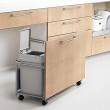 ゴミ箱用ワゴンに置くのにぴったりなゴミ箱発見! |家具職人の(ヨメの)北欧シンプルなマイホームへの道