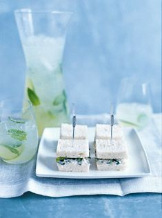 Donna hay-Crab and coriander sandwiches..mmm