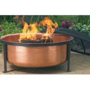Hand Hammered 100% Copper Fire Tub-Fire Pits, Water Fountain, Hammer Copper, Hands, Outdoor Patios, Outdoorfirepit, Gardens, Outdoor Fire Pit, Copper Fire