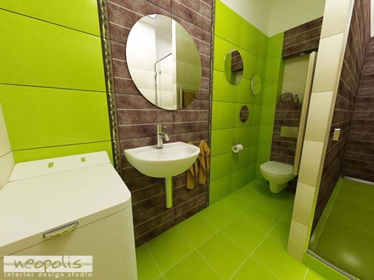 Modern Green Wall And Floor Tiles For Cool Bathroom Decor With Artistic Inspiration Picture Listed In Green And White Bathroom Ideas Blue And Green