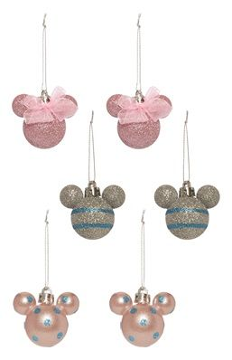 Mickey Mouse-decoratie, 6 st.