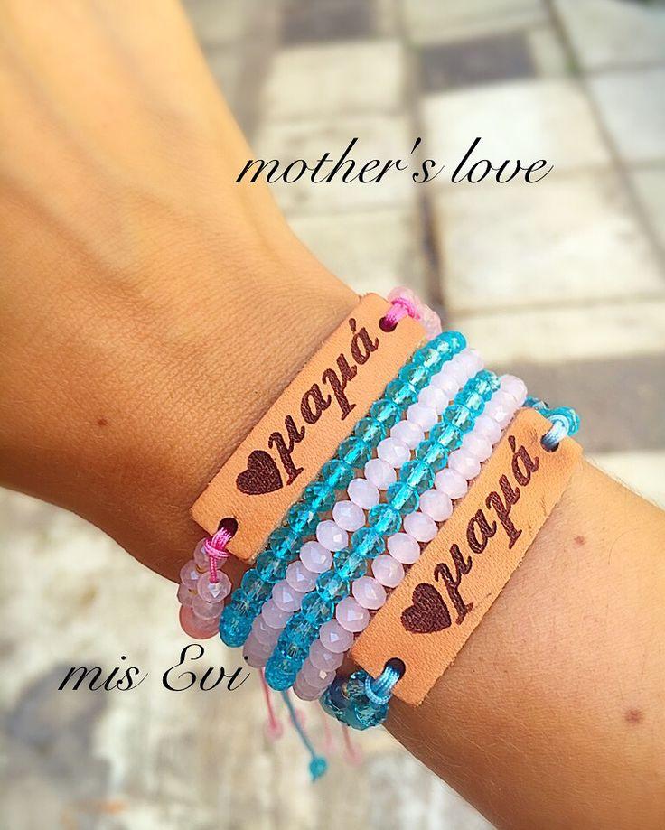 Mother's love!!! Handmade bracelets