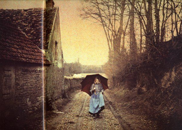 Country Autochrome Lumiere An Early Color Photography Process Patented By The Brothers In France And First Marketed It Was Principal