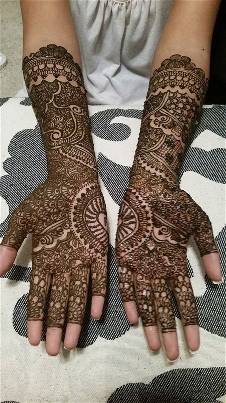 21 trends of bridal henna