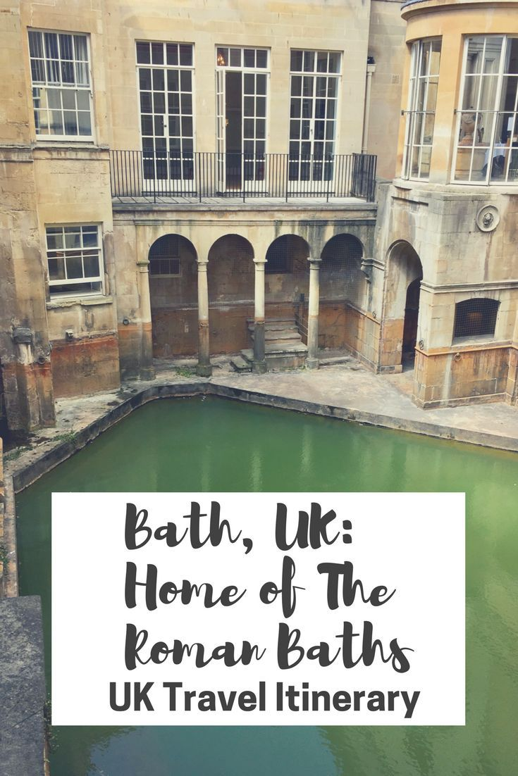 Bath, England is an old Roman town of ancient times. Get advice on highlights within the town, including Thermae Bath Spa and The Roman Baths. Bath is a must in a UK Travel Itinerary!